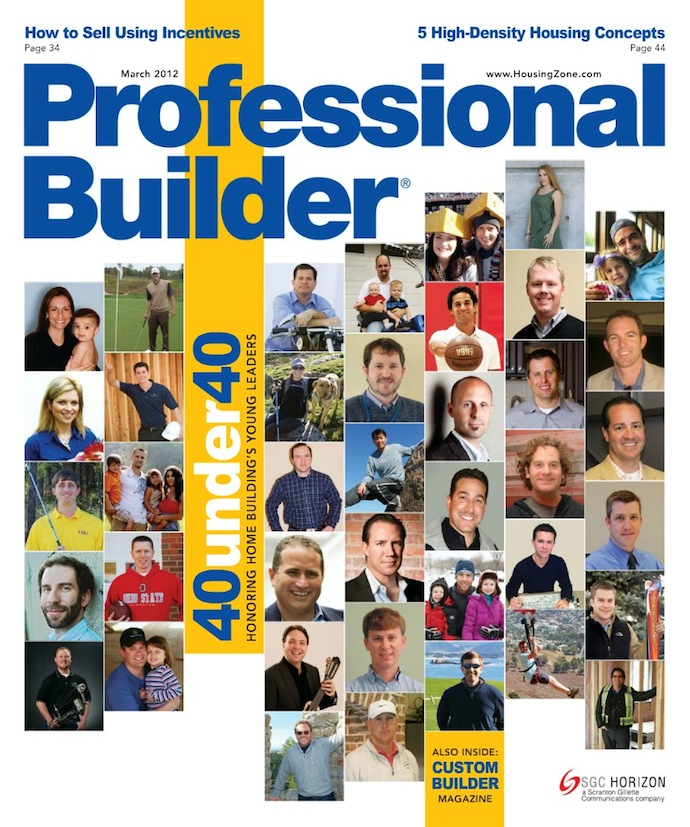 Professional Builder March 2012 Cover
