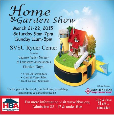Svsu Ryder Center Hba Home And Garden Show 2015