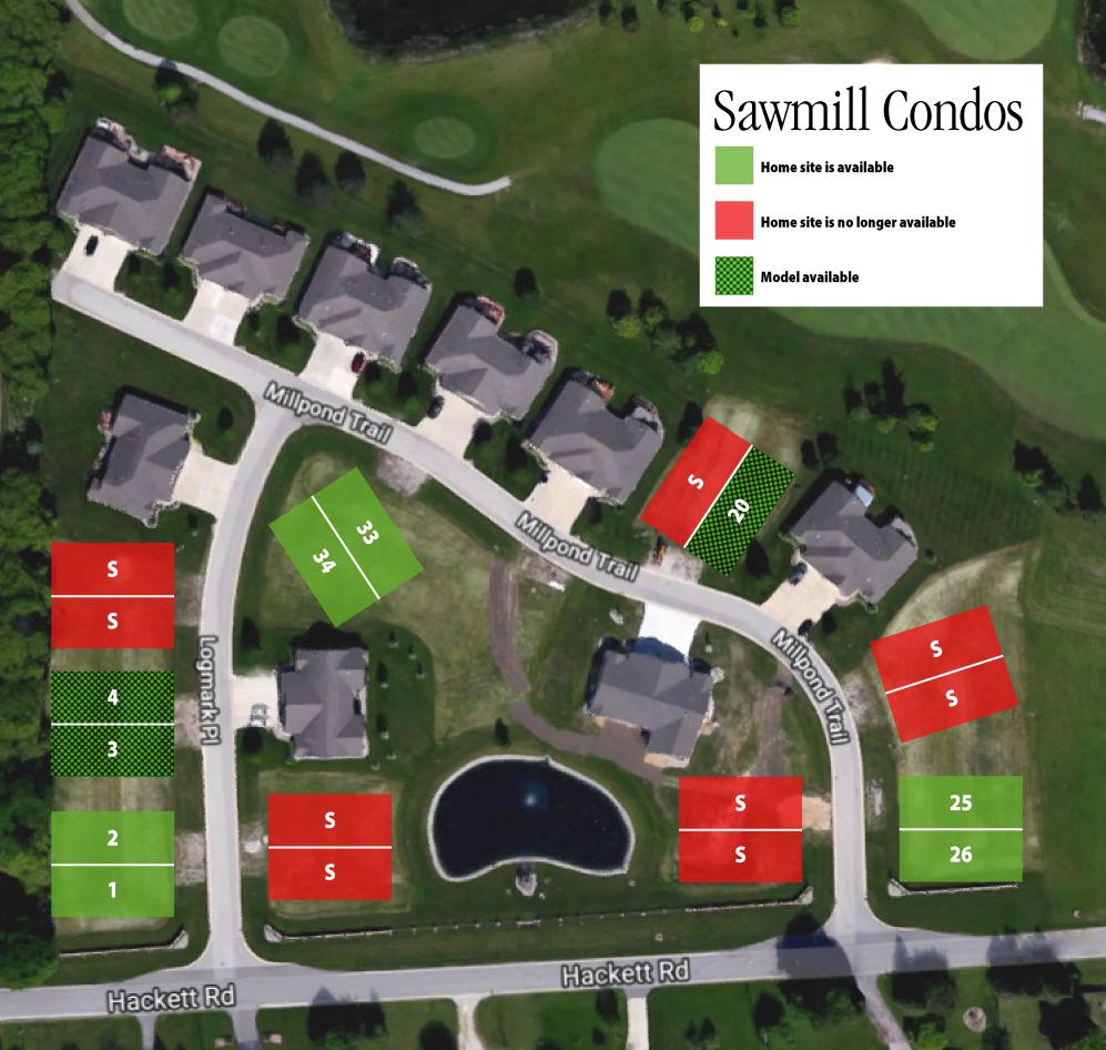 Sawmill Condos – Saginaw – Cobblestone