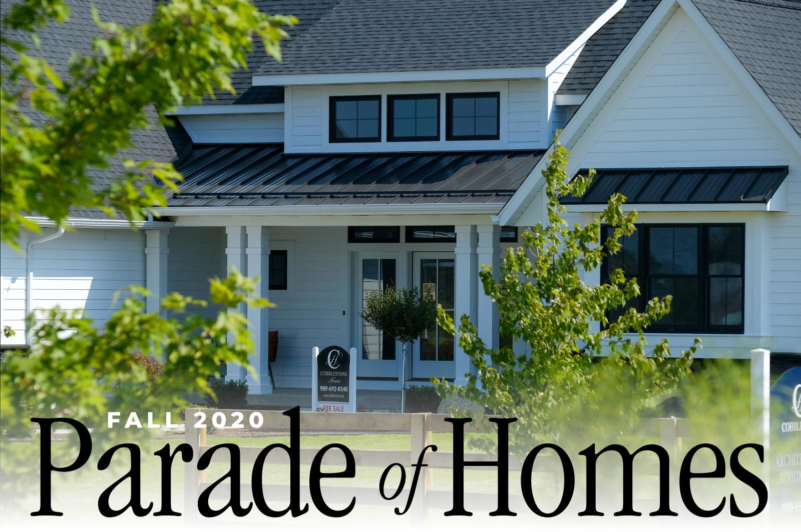 Midland and Saginaw Parade of Homes 2020